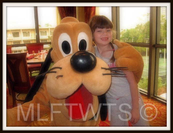 Meg and Pluto