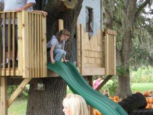 Meg treehouse
