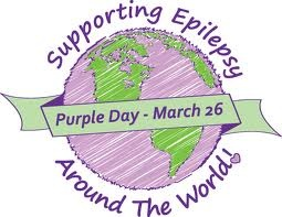 purpleday Keep Calm and Rock On for Epilepsy