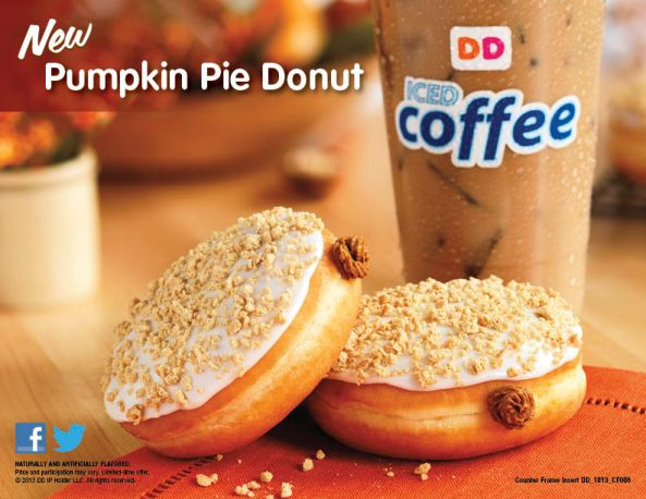 Pumpkin Pie Donut & Coffee